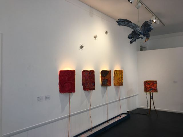 At Kathryn Schultz Gallery, Cambridge MA